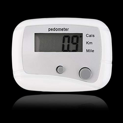 Leichter Mini Digital LCD-Schrittzähler Run Jogging Step Walking Distance Counter #Pennytupu