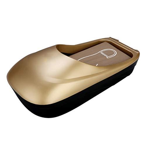 ZSQDSZ Máquina Antideslizante automática de la máquina de la Zapata del ABS del Color sólido del hogar Antideslizante Máquina de la Cubierta del Zapato (Color : A)