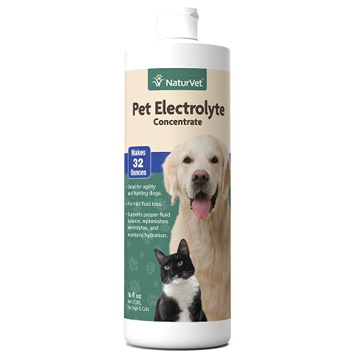 NaturVet Pet Electrolyte Concentrate for Dogs and...