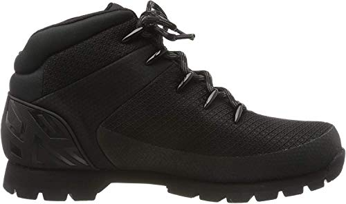 Timberland Mens Euro Sprint Waterproof Mid Hiker Textile Boots (12, Black)