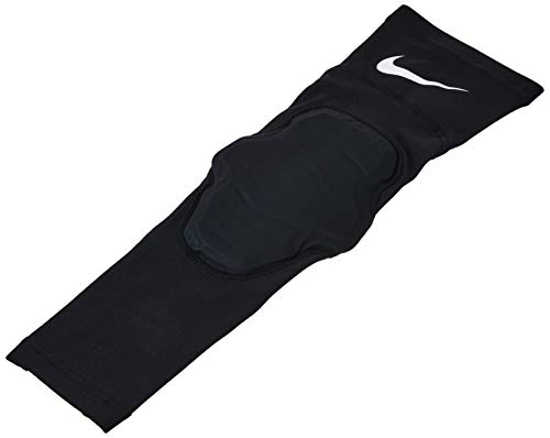 Nike Basketball Hyperstrong Padded Elbow Sleeve Black/White Size Small/Medium