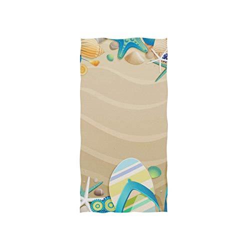LLOOP Toallas de mano, 40 cm x 70 cm, chanclas de playa,...