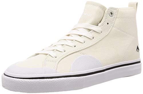 Emerica Skateboard Shoe Omen Hi White