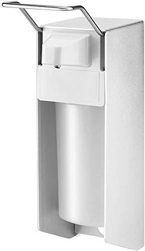 HebaiDIY Qijieda Eurospender 500 ml, Seifenspender Wandbefestigung - Elbow Pressure Desinfektionsmittelspender für Küchen und Badezimmer