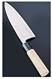 遠藤商事 業務用 佐文 出刃 21cm 銀三 鏡面仕上 日本製 ASB40021