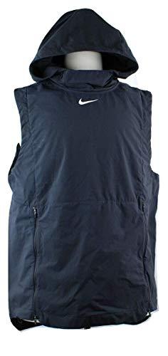 Nike Men's Alpha Fly Rush Hooded Training Vest (Black, Small)