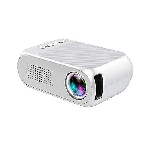 TOPQSC Mini Proyector Portátil, Reproducción HD 1080P, Soporte...