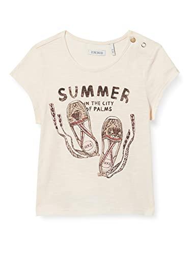 IKKS tee-Shirt imprimé Espadrilles Camiseta, Transparente, 3 años para Bebés