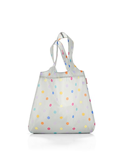 reisenthel mini maxi shopper 43,5 x 60 x 7 cm / 15 l / stonegrey dots