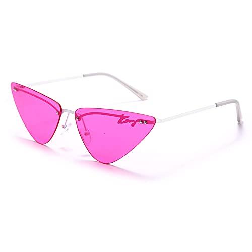 ShZyywrl Gafas De Sol De Moda Unisex Gafas De Sol De Mujer Sin Montura Gafas De Sol De Ojo De Gato Gafas De Sol Vintage para Mujer Gafas De Sol Showaspicture