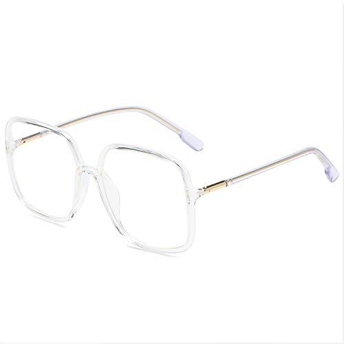 Gafas Con Filtro De Luz Azul Gafas Anti Luz Azul Sin Receta Para Mujeres Hombres Gafas Para Juegos De Computadora Gafas Retro Con Luz Antifatiga Gafas Cuadradas Transparentes Con Montura Metálica