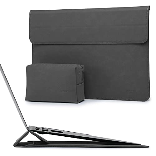 HYZUO 13 Zoll Laptop Hülle Laptophülle Laptoptasche mit Standfunktion Compatibel mit MacBook Air 13 M1 2018-2021/MacBook Pro 13 M1 2016-2021/iPad Pro 12,9 2018-2021/Dell XPS 13/Surface Pro X 7 6 5 4 3