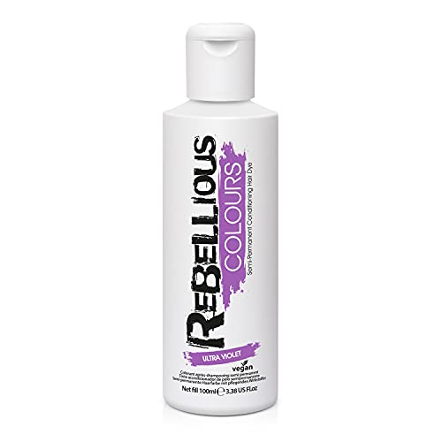 Paintglow - Rebellious Colours - Tinte de Pelo Semi-Permanente, Ultra...