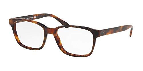 Polo 0PH2186 Monturas de gafas, Rectangulares, 54, Vintage Havana Jerry