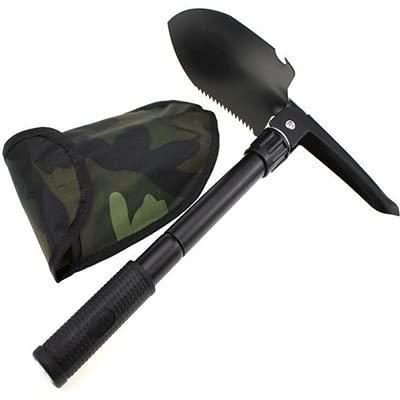 supervivencia cuchillo de camping Pala plegable portátil multifunción con bolsa Axe de...