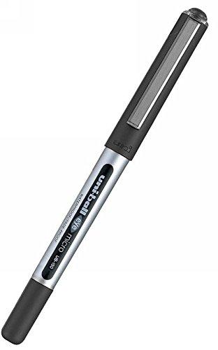 uni-ball Eye Micro UB150 - Confezione da 14 penne roller, colore: Nero