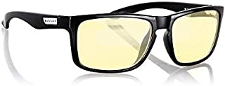 Gunnar Intercept Computer and Gaming Glasses with Retro Classic Frames - Onyx Amber