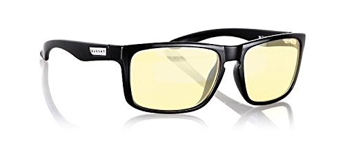 Gunnar Intercept Onyx - Gafas antifatiga, Color Negro