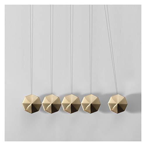 XCYY Manija de la Puerta Martillo Cobre Perillas For Muebles Gabinete Cocina Manija Cajón Armario Tirones Solid Gold Brass Gabinete Handle Tirones, Palanca Interna Handl (Color : Hammer 30mm)