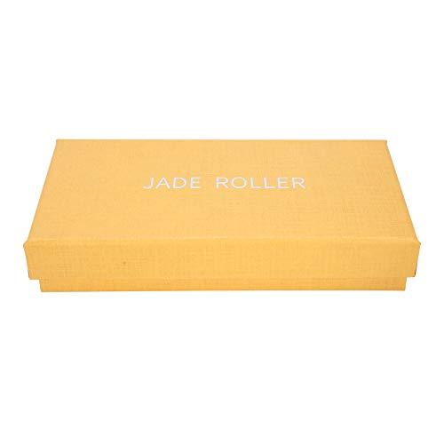 Herramienta de masaje de raspado de placa de raspado de masaje puro para el cuerpo para calentar los meridianos para uso adulto para relajación(Rose gold)