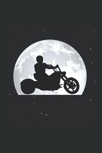 Trike Tagesplaner: Trike Mond Triker Biker Dreirad Trikefahrer / Kalender 2022 / Wochenplaner Tagesplaner Planer / Planungsbuch To-Do-Liste / 6x9 Zoll / 100 ausfüllbare Seiten