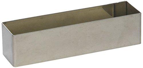 Gobel 867560 Nonnette/Emporte-Pièce Forme Rectangulaire Inox 12*3 cm