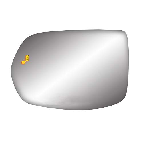 Fit System Heated Replacement Glass w/backing plate, 17-19 CR-V, w/BSDS, LH (55306)