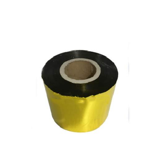 CGOLDENWALL 1 Rolle Folie Papier Rolle Verpackungsmaterialien für automatische Teebeutelmaschine Gewicht und Füllung Verpackungsmaschine Messung Verpackungsmaschine (goldene Aluminiumfolie)