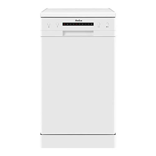 Amica ADF410WH Slimline Dishwasher - White