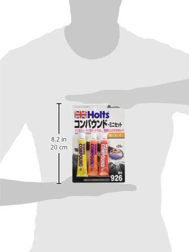ホルツコンパウンドミニセット粗目・細目・極細25gx3本セットHoltsMH926