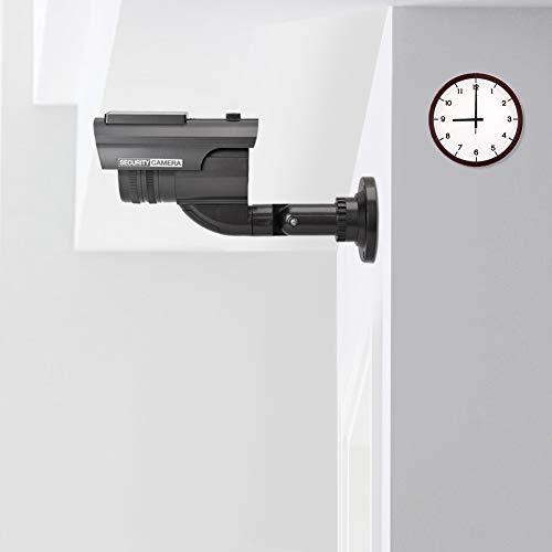 Affordable Diydeg Wireless LED Light Waterproof Black CCTV Camera, Dummy Camera, 25mm Plastic Lens f...