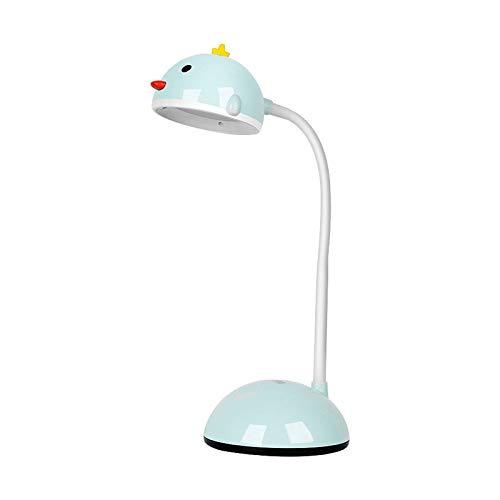 Lámpara de Escritorio Lámpara de escritorio LED con puerto de carga USB STEPLESS Dimmable 3 Modos de color Control táctil recargable Lámpara de mesa Mini lámpara de estudio para el hogar, Oficina Flex