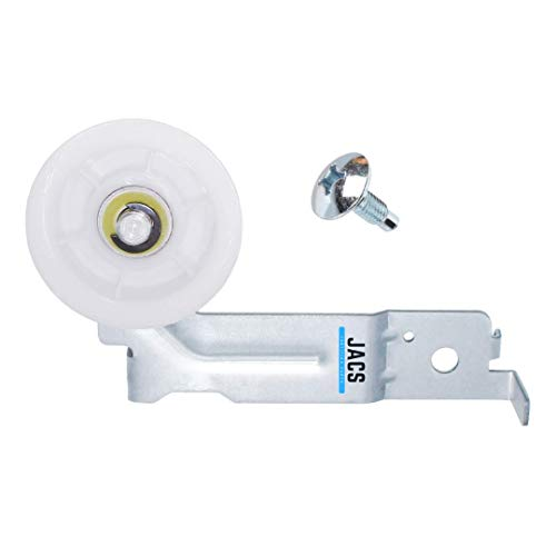 Samsung Dryer Idler Pulley DC93-00634a [Upgraded Dual Ball Bearings] - Replaces Samsung Dryer Parts DC97-07509b AP4373659 AP6038887 AP4213616 PS4216837 PS11771601 4455850, JACS
