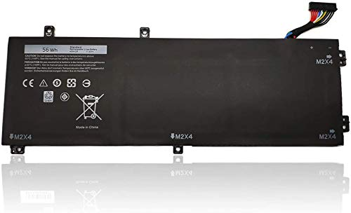 ASKC H5H20 Laptop Battery for Dell XPS 15 9550 9560 9570 7590 Precision 5510 5520 5530 5540 Inspiron 7590 7591 Series Notebook 62MJV M7R96 5D91C 05D91C 11.4V 56Wh 3-Cell