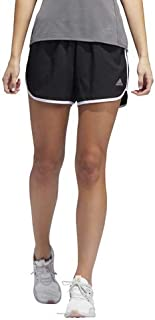 "adidas Women's M20 Shorts, Black/White, Medium 3"""