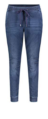 MAC Jeans Damen Jog´N Jump in Straight Jeans, Blau (Dark Blue Authentic Wash D868), W38 (Herstellergröße: 38/Ol)