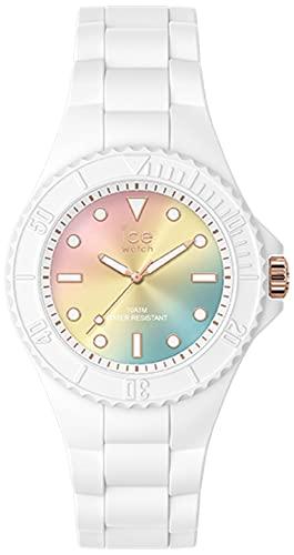 Ice Generation Reloj para Mujer Analógico de Cuarzo con Brazalete de Silicona IC019141