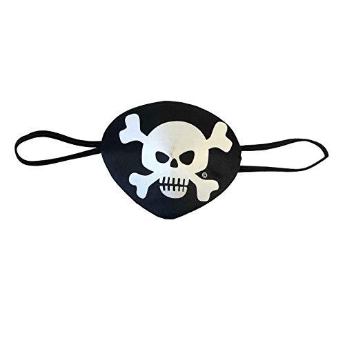 Liontouch 308LT Parche de Ojo de Pirata de Juguete con Raya roja para niños | Forma Parte de la línea de Disfraces para niños