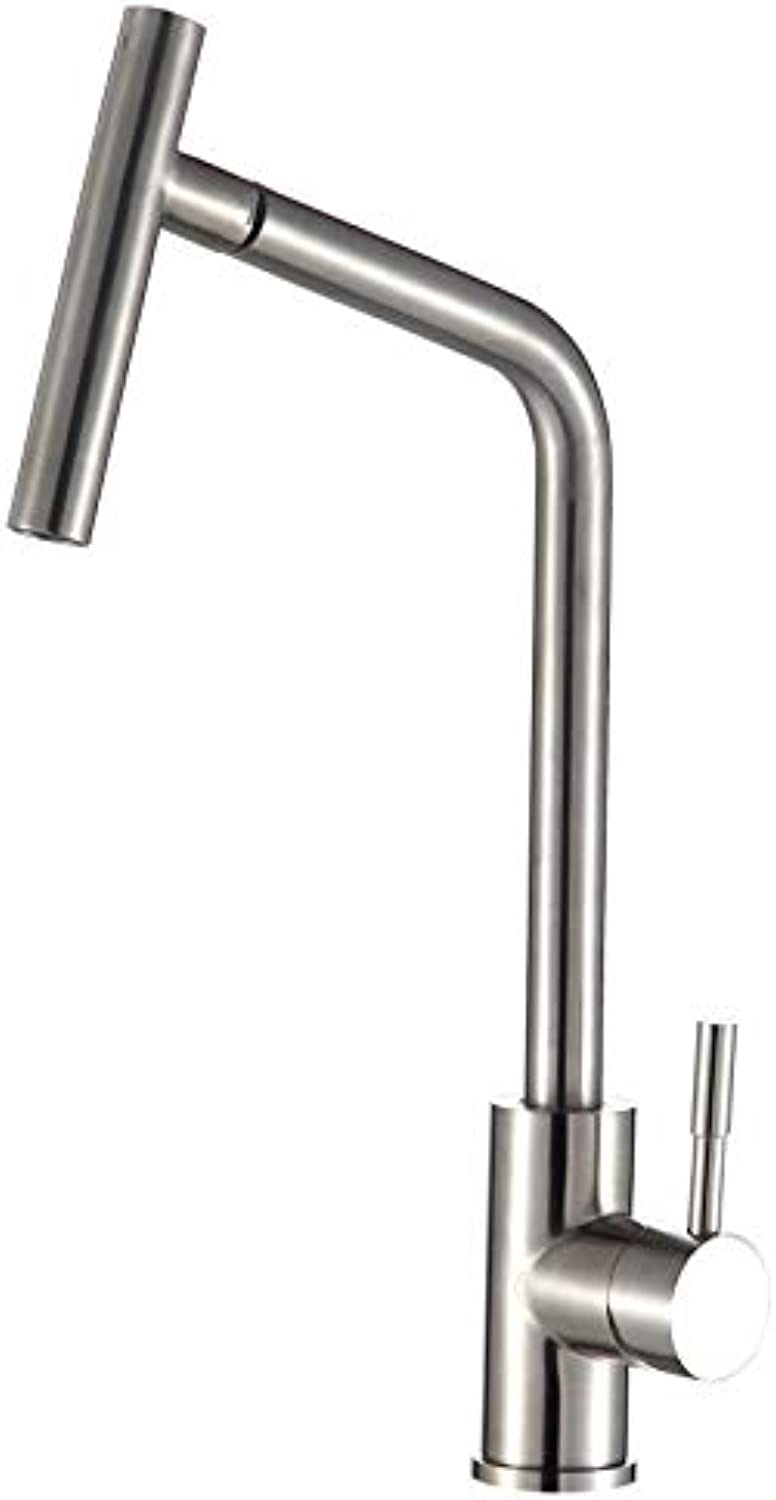 redOOY Faucet Tap ?Microphone?304?Stainless Steel Faucet?Fashion?Simple?Faucet