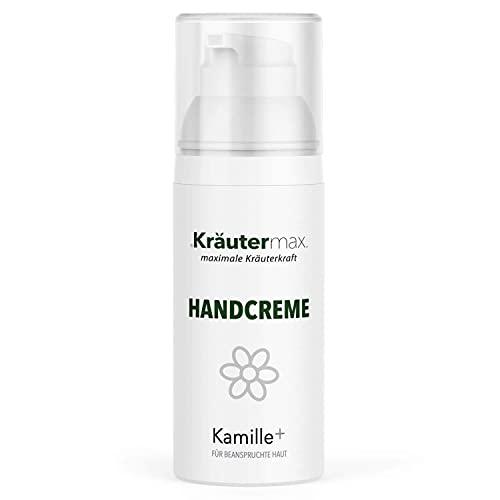 Crème pour les mains à la camomille Crème mains et ongles pour mains stressées 1 x 50 ml