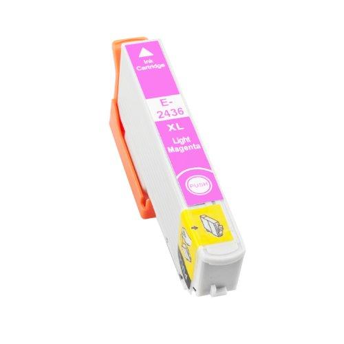 TONERPACK T2436/T2426 (24XL) Magenta Light Cartucho de Tinta Generico - Reemplaza C13T24364012/C13T24264012 para Epson