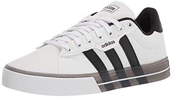 adidas Men s Daily 3.0 Skate Shoe White/Black/Black 10