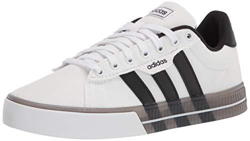 adidas Herren Daily 3.0 Skateschuh, Weiß (Weiß/Schwarz), 42