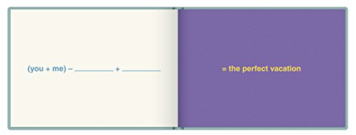 Knock Knock You + Me = Love Fill in the Love Book Fill-in-the-Blank Gift Journal, 4.5 x 3.25-inches Photo #4