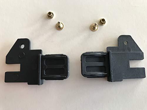 scivoli per zanzariera a molla o catena - accessori per zanzariera a rullo. (1 coppia a molla)