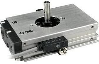 SMC NCDRQBW10-90 - SMC NCDRQBW10-90 Rotary Single Vane Pneumatic Rotary Actuator, Double Shaft, 10mm Bore Dia, Type: Rotary Single Vane
