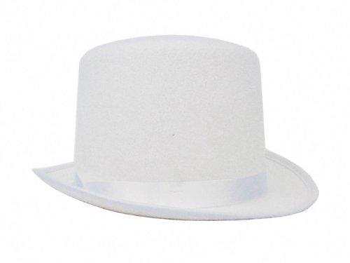 Party Pro- Top of Shape Fabric Luxe Bonnet, 843244702, Blanc