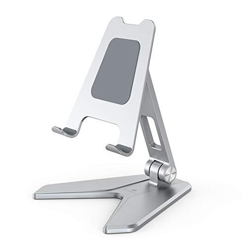 Ipad/teléfono soporte plegable del teléfono de Ipad del alunium conveniente para el ipad y el teléfono móvil