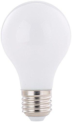 Luminea SMD LED Leuchtmittel: SMD-LED-Lampe, E27, 360°, 8 Watt, 750 Lumen, warmweiß (LED-Glühbirne E27)
