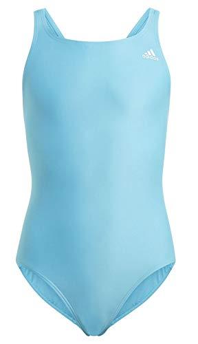 adidas Fit Suit sol Y Costume da Bagno Ragazze, Bambina, Costume da Bagno, GQ1144, Bianco (Ciasen/Blanco), 128